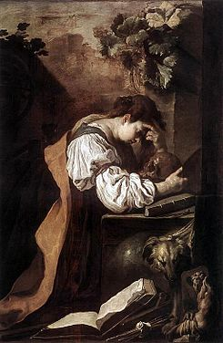 Domenico Feti - Melancholy (Version 2).JPG