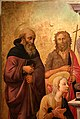 Domenico di michelino, madonna col bambino in trono e santi, 1450-60 ca., da s.m. dei cerchi firenze, 02 antonio abate.jpg