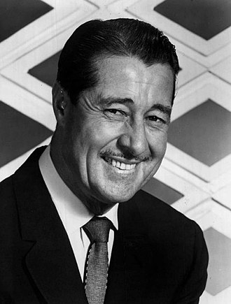 Don Ameche - Ameche on the set of International Showtime in September 1964