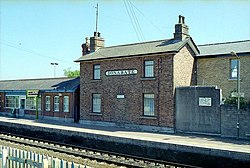 Donabate railway station