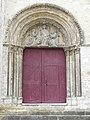 Donnemarie-Dontilly (77) Église N.D. Portail méridional 01.JPG