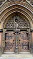 Doorway of the Our Lady and the English Martyrs Church in Cambridge.jpg