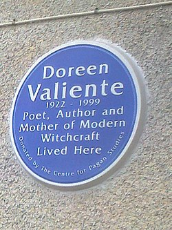 Doreen valiente plaque