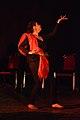 Dorothy Bhattacharya Dancing With Rabindra Sangeet - Sriniketan - Birbhum - 2017-10-21 5174.JPG