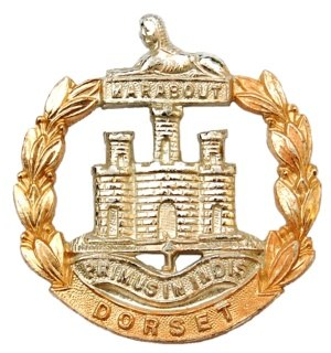 Dorset Regiment - Image: Dorset Regiment Cap Badge 01