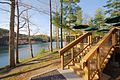 Douthat Lakeview Restaurant-deck-stairs-path-waterfront-view (17820446625).jpg