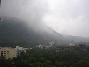 Anushakti Nagar - Hills near Anushakti Nagar