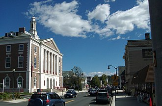 Littleton, New Hampshire - Image: Downtown Littleton NH