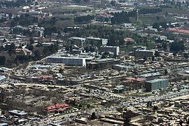 City center of Kabul