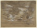 Drawing, Ship Deck with Two Women, possibly July 15, 1886 (CH 18175035-2).jpg