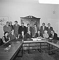 Drie progressieve partijen (PvdA, D66, PPR) presenteren schaduwkabinet, het scha, Bestanddeelnr 926-0347.jpg