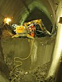 Drilling in Crossrail tunnel (11421397204).jpg