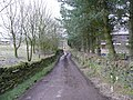 Driveway to Brookside Farm, Townhead, Dunford - geograph.org.uk - 716916.jpg