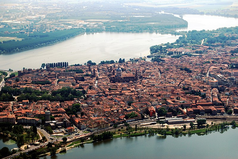 Mantua - Aerial view