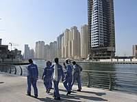 Dubai has approximately 250,000 labourers, mos...