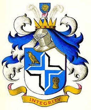 Dukinfield - Coat of arms of the former Dukinfield Municipal Borough Council