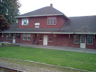 Duncan, British Columbia - Image: Duncan BC Station