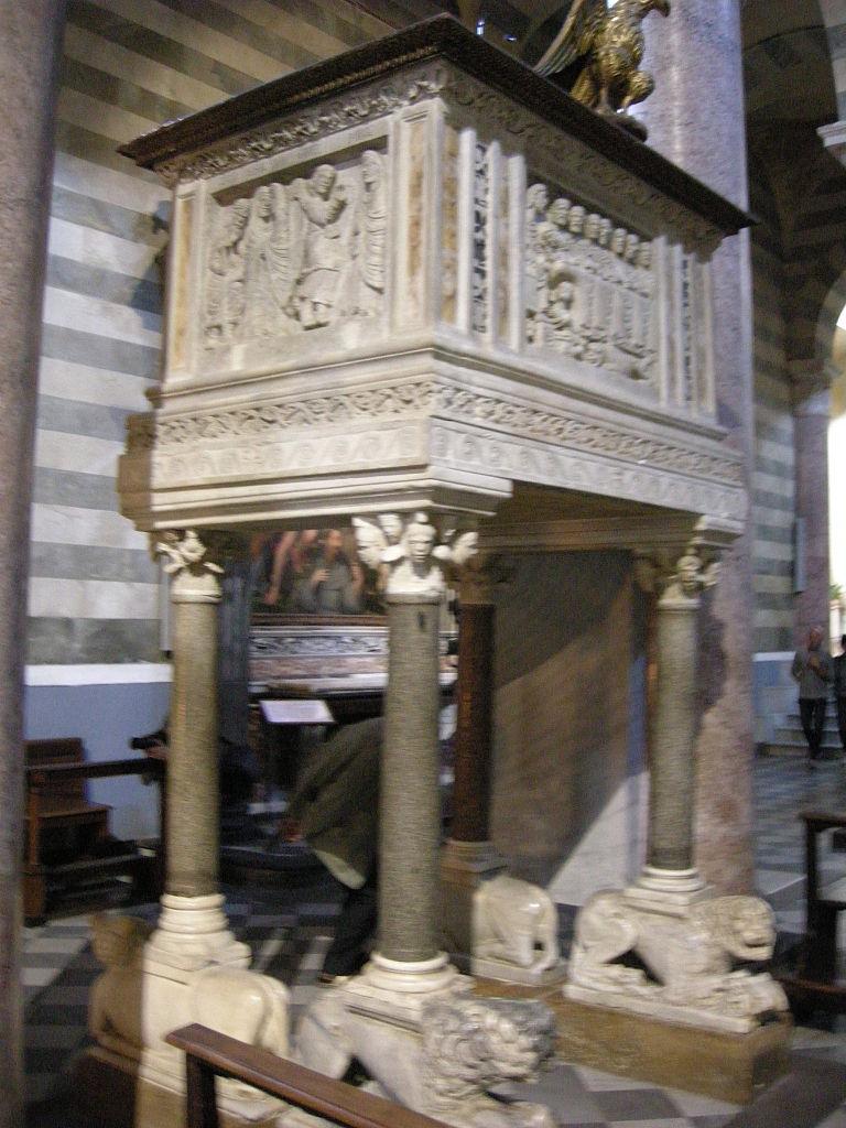 File Duomo Di Volterra Interno 09 Pulpito Jpg Wikimedia