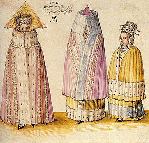 Terra Mariana - Three Mighty Ladies from Livonia by Albrecht Dürer (1521)