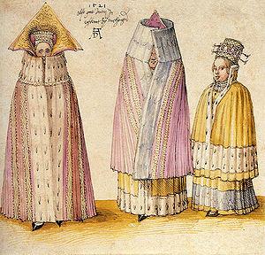 Terra Mariana - Three Mighty Ladies from Livonia by Albrecht Dürer (1521)