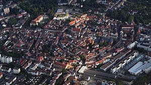 Durlach - Durlach, aerial view