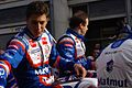 Duval and Panis Le Mans drivers parade 2011.jpg
