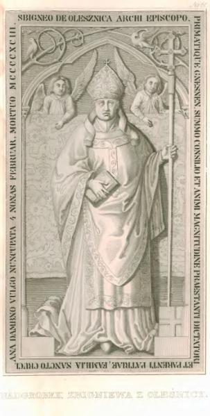 File:E.Raczyński, Nadgrobek Zbigniewa z Oleśnicy.djvu