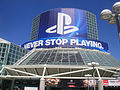 E3 Expo 2012 - Playstation banner (7640590798).jpg