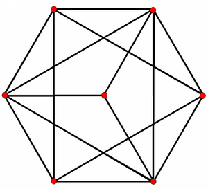 Uniform k 21 polytope - Image: E4 graph ortho