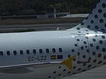 EC-LZZ, A320 of Vueling, Bilbao Airport, May 2019 (02).jpg