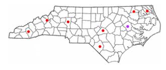 East Carolina University School of Dental Medicine - Image: ECU Community Service Learning Centers
