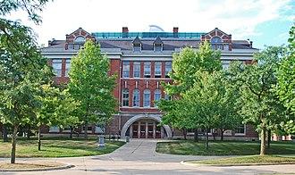 Eastern Michigan University Historic District - Sherzer Hall