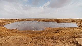 Gaetale Pond Small lake in the Afar Region of Ethiopia