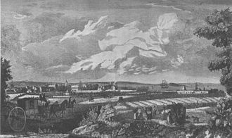 Easter Road, Edinburgh - Easter Road in the 18th century