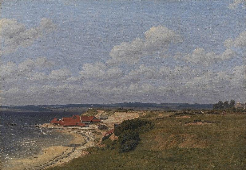 Fil:Eckersberg, CW - Teglværket Renbjærg ved Flensborg Fjord - 1830.jpeg