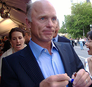 """English: Ed Harris at the premiere for """"A..."""