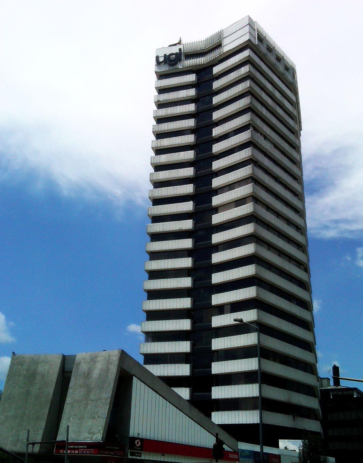 Edificio ugi wikipedia la enciclopedia libre - Altura de un piso ...