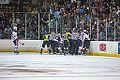 Edmonton Oilers Rookies vs UofA Golden Bears (15274975522).jpg