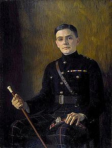 C. K. Scott Moncrieff painted by Edward Stanley Mercer (1889–1932)