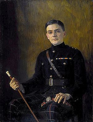 C. K. Scott Moncrieff - C. K. Scott Moncrieff painted by Edward Stanley Mercer (1889–1932)