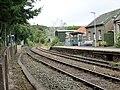 Eggesford railway station platforms, Tarka Line, South Devon - view towards Barnstaple.jpg