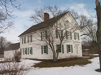 The Hamptons - Sherrill Farmhouse in East Hampton, New York is listed on the National Register of Historic Places.