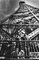 Eiffel Tower Monochrome Photograph.JPG