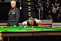 Eirian Williams and Judd Trump at Snooker German Masters (Martin Rulsch) 2014-02-01 01.jpg