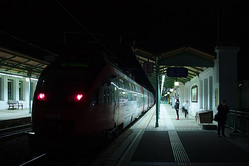 Eisenbahnstrecke, Wiener Vorortelinie - Teilbereich Ottakring mit Station Ottakring (74518) IMG 6442