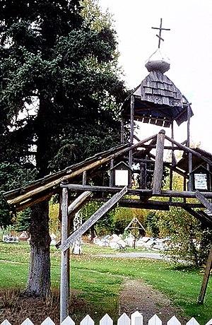 Eklutna, Anchorage - The Russian Orthodox Eklutna Cemetery