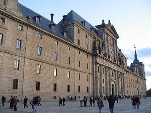 Façade of the Monastery of El Escorial