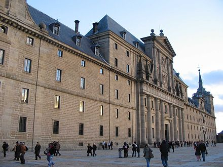 Façade of the Monastery of El Escorial