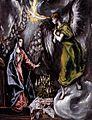 El Greco - The Annunciation (detail) - WGA10518.jpg