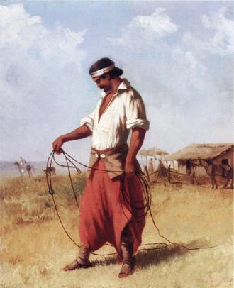 Portuguese invasion of the Banda Oriental (1811–12) - A gaucho from the Banda Oriental